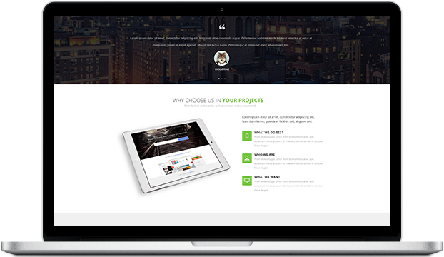 Build a better brand with  the Metanic WordPress Theme.
